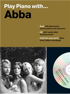 Play Piano With... Abba Books and CDs | Piano, Vocal & Guitar (with Chord Boxes)