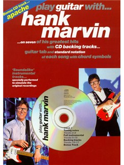 Play Guitar With... Hank Marvin CD et Livre | Tablature Guitare (Symboles d'Accords)