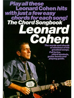 Leonard Cohen: Chord Songbook Books | Lyrics & Chords