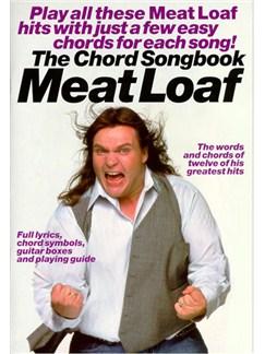 The Chord Songbook: Meat Loaf Libro | Textos y Acordes(Diagramas)