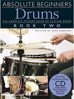 Absolute Beginners: Drums - Book Two Books and CDs | Drums