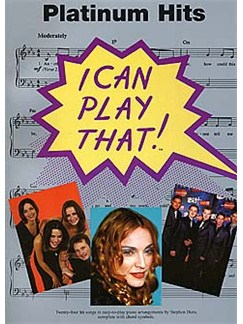 I Can Play That! Platinum Hits Books | Piano, Lyrics & Chords