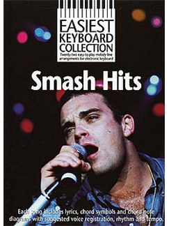 Easiest Keyboard Collection: Smash Hits Books | Melody line & lyrics, with chord symbols
