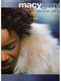 Macy Gray: On How Life Is Books | Piano and Voice, with Guitar chord boxes