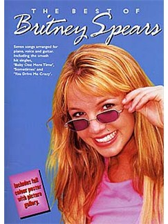 The Best Of Britney Spears Books | Piano and Voice, with Guitar chord boxes