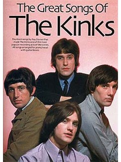 The Great Songs Of The Kinks Books | Piano and Voice, with Guitar chord boxes