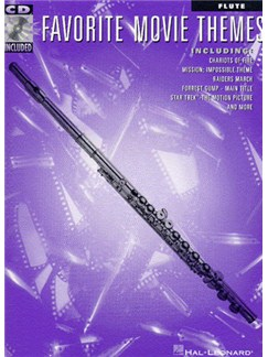 Favourite Movie Themes: Flute Books and CDs | Flute