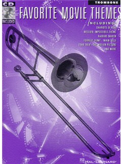 favorite movie themes for trombone bass clef instruments