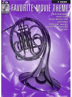 Favorite Movie Themes For French Horn Books and CDs | French Horn