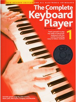 The Complete Keyboard Player: Book 1 With CD (Revised Edition) Books and CDs | Keyboard