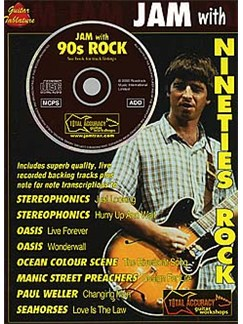 Jam With Nineties Rock Books and CDs | Guitar Tab, with chord symbols