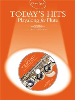 Guest Spot: Today's Hits Playalong For Flute CD et Livre | Flûte Traversière
