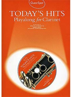 Guest Spot: Today's Hits Playalong For Clarinet Books and CDs   Clarinet