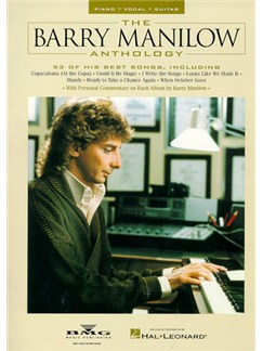 The Barry Manilow Anthology Books | Piano and Voice, with Guitar chord boxes