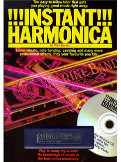 Instant Harmonica Books, CDs and Instruments | Harmonica
