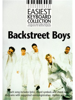 Easiest Keyboard Collection: Backstreet Boys Books | Melody line & lyrics, with chord symbols