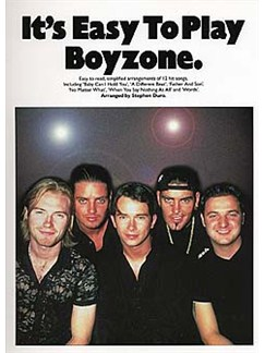 It's Easy To Play Boyzone Books | Piano and Voice, with Guitar chord symbols