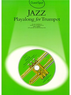 Guest Spot: Jazz Playalong For Trumpet Books and CDs | Trumpet