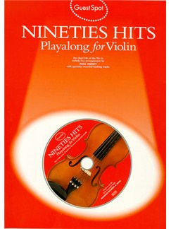 Guest Spot: Nineties Hits Playalong For Violin Books and CDs | Violin