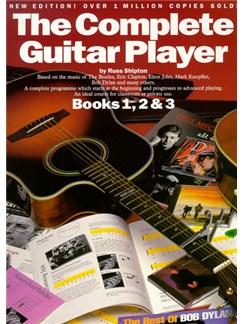 The Complete Guitar Player - Books 1, 2 & 3 (New Edition) Books | Guitar, with chord symbols