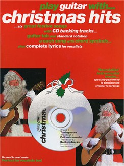 Play Guitar With... Christmas Hits Books and CDs | Guitar Tab, Melody line, Lyrics & Chord, with chord symbols