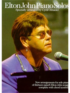 Elton John: Piano Solos Books | Piano, with chord symbols