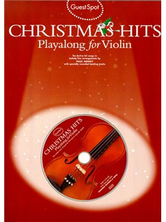 Guest Spot: Christmas Hits Playalong For Violin Books and CDs | Violin