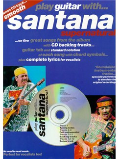 Play Guitar With... Santana - Supernatural Books and CDs | Guitar Tab, with chord symbols