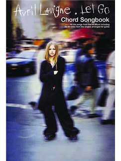 Avril Lavigne: Let Go (Chord Songbook) Books | Lyrics & Chords