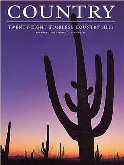 Country: Twenty-Eight Timeless Country Hits Books | Piano and Voice, with chord boxes