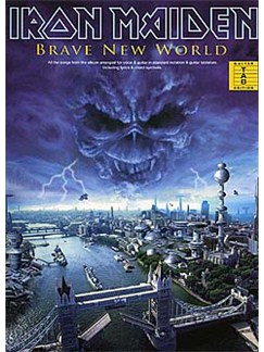 Iron Maiden: Brave New World Guitar Tab Edition Livre | Tablature Guitare (Symboles d'Accords)