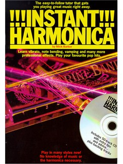 Instant Harmonica Books and CDs | Harmonica