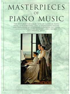 Masterpieces Of Piano Music Livre | Piano