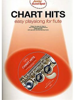 Junior Guest Spot: Chart Hits - Easy Playalong (Flute) Books and CDs | Flute