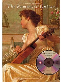 The Romantic Guitar CD et Livre | Guitare
