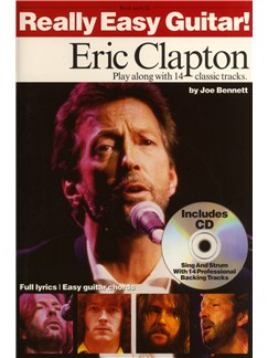 Really Easy Guitar! Eric Clapton Books and CDs | Guitar Tab (with Chord Symbols)
