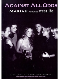 Mariah Carey And Westlife: Against All Odds Books | Piano and Voice, with Guitar chord boxes