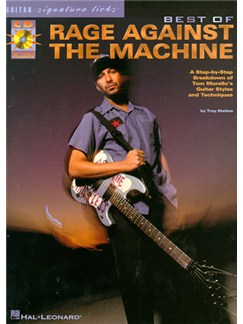 The Best Of Rage Against The Machine: Guitar Signature Licks Books and CDs | Guitar Tab, with chord symbols