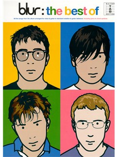 Blur: The Best Of Books | Guitar Tab, with chord symbols