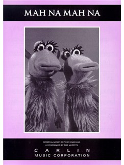 The Muppets: Mah Na Mah Na Books | Piano and Voice, with Guitar chord boxes