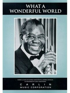 Louis Armstrong: What A Wonderful World Books | Piano, Voice and Guitar Chord Boxes