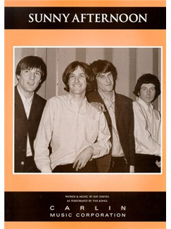 The Kinks: Sunny Afternoon Books | Piano and Voice, with Guitar chord boxes