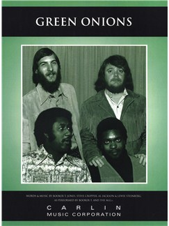 Booker T And The MGs: Green Onions Books | Piano, Voice, and Guitar Chord Boxes