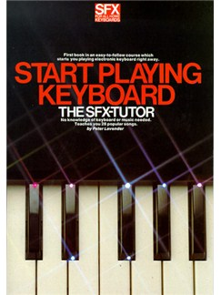 SFX Start Playing Keyboard Books | Melody line & lyrics, with chord symbols