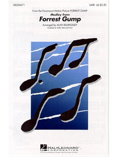 Medley From Forrest Gump Books | Soprano, Alto, Tenor, Bass, Piano