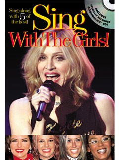 Sing With The Girls! Books and CDs | Melody line with lyrics and chord symbols