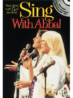 Sing With Abba! Books and CDs | Melody line with lyrics and chord symbols