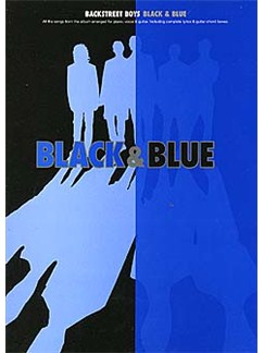 Backstreet Boys: Black & Blue Books | Piano and Voice, with Guitar chord boxes