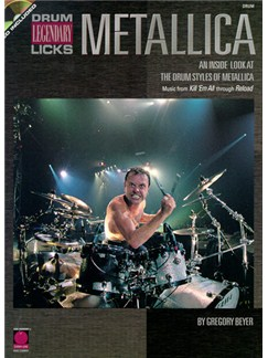 Metallica Legendary Licks Drums CD et Livre | Batterie