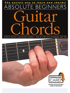 Absolute Beginners: Guitar Chords (Book/Download Card) Books and Digital Audio | Guitar